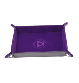 Die Hard Dice DHD: Dice Tray Rectangle Purple