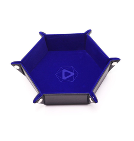Die Hard Dice DHD: Dice Tray Hex Blue