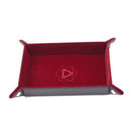Die Hard Dice DHD: Dice Tray Rectangle Red
