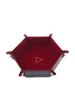Die Hard Dice Die Hard Dice: Dice Tray Hex Red