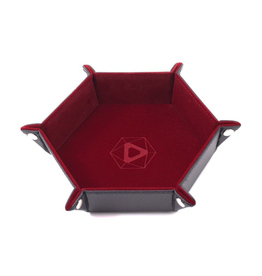 Die Hard Dice DHD: Dice Tray Hex Red