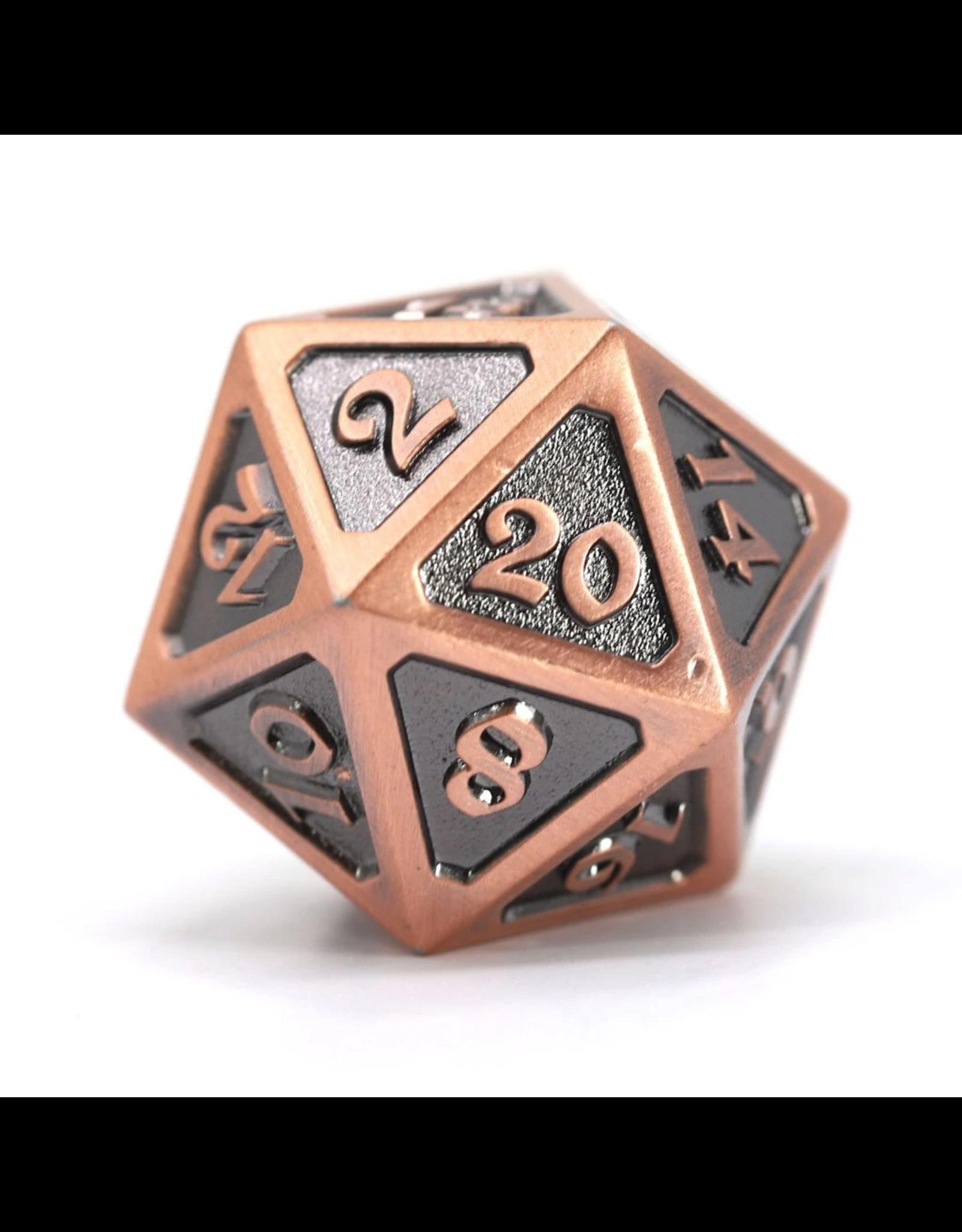 Die Hard Dice Die Hard Dice: Dire d20 Mythica Battleworn Copper