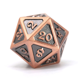 Die Hard Dice DHD: Dire d20 Mythica Battleworn Copper