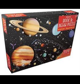 Usborne Book & Jigsaw: The Solar System  - 200 Piece Jigsaw Puzzle
