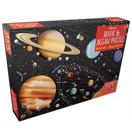 Usborne Book & Jigsaw: The Solar System 200p