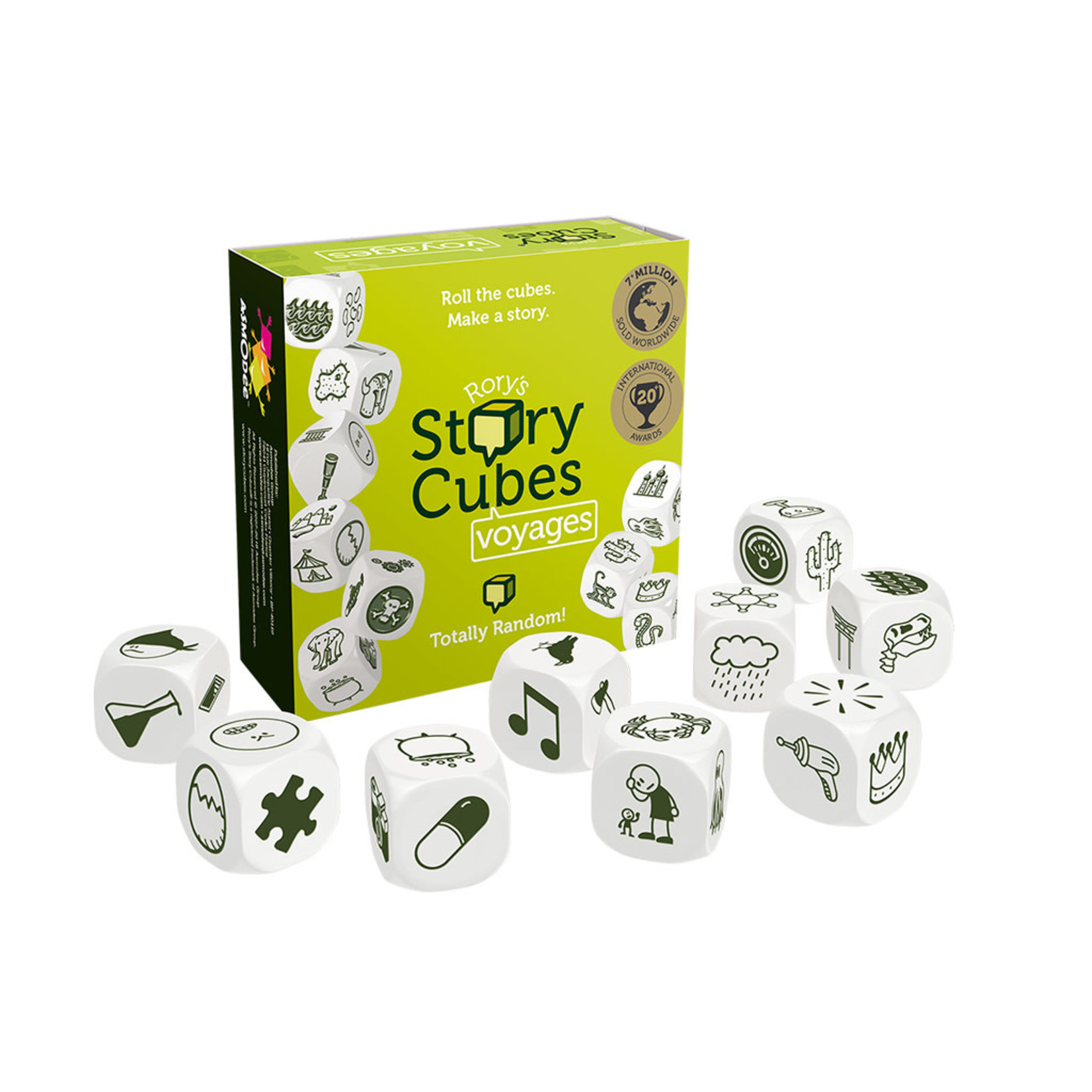 Asmodee Rory's Story Cubes Voyages