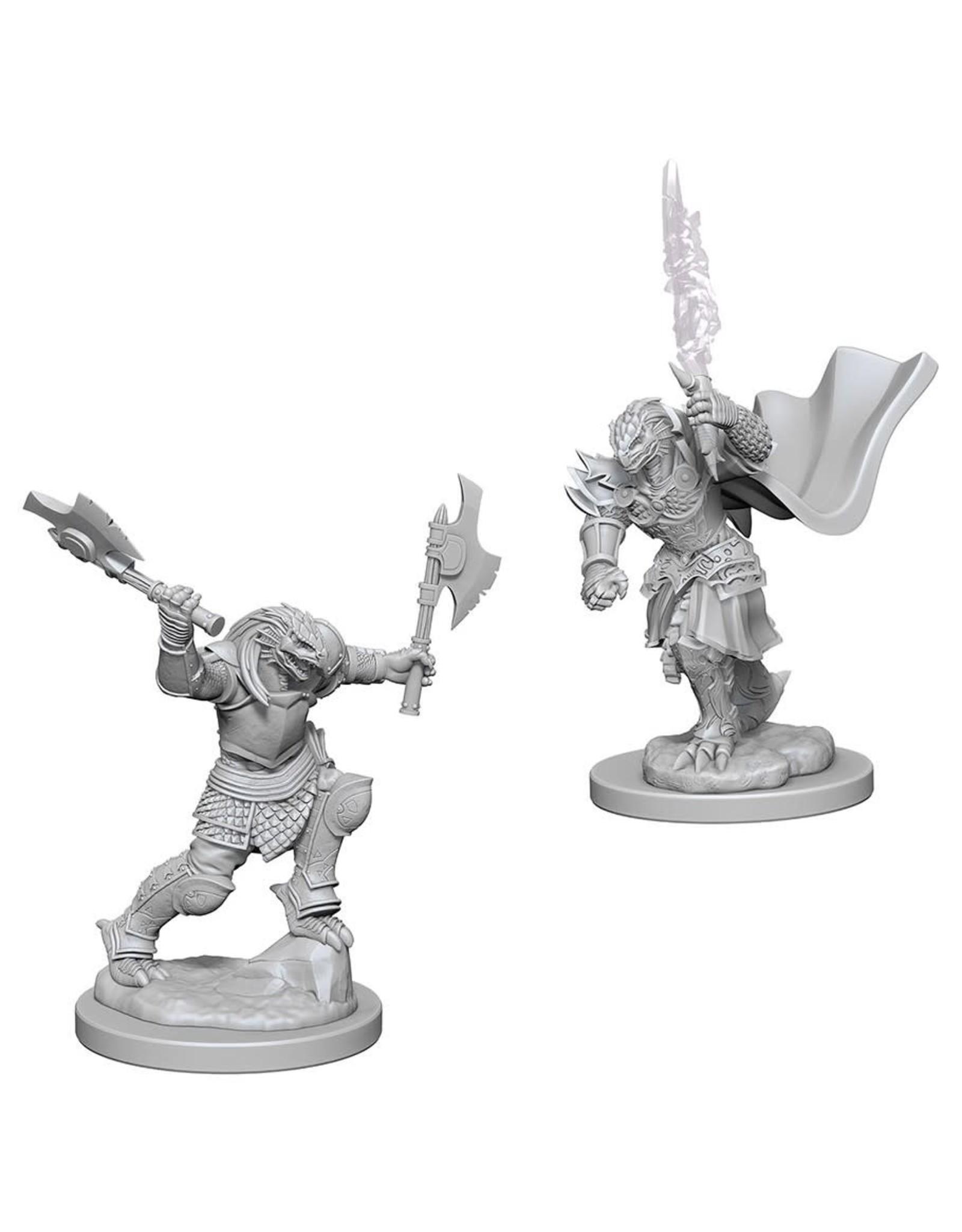 WizKids D&D Minis Nolzur's Marvelous Miniatures Dragonborn Female Fighter (Unpainted)