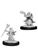 WizKids D&D Minis (unpainted): Gnome Wizard (male) Wave 6, 73382