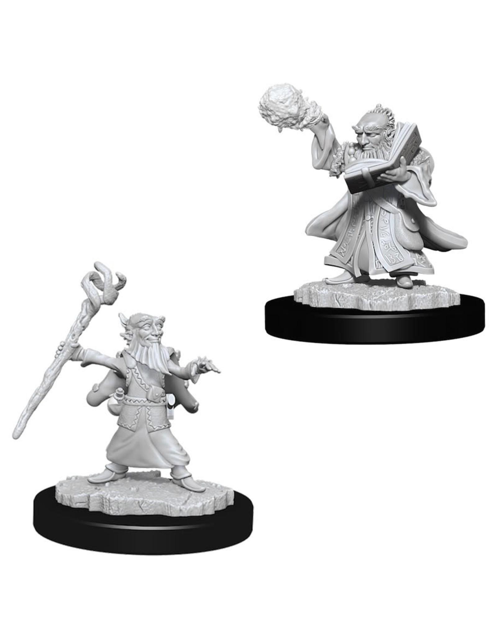 WizKids Dungeons & Dragons Minis Nolzur's Marvelous Miniatures Gnome Male Wizard Wave 6 (Unpainted)