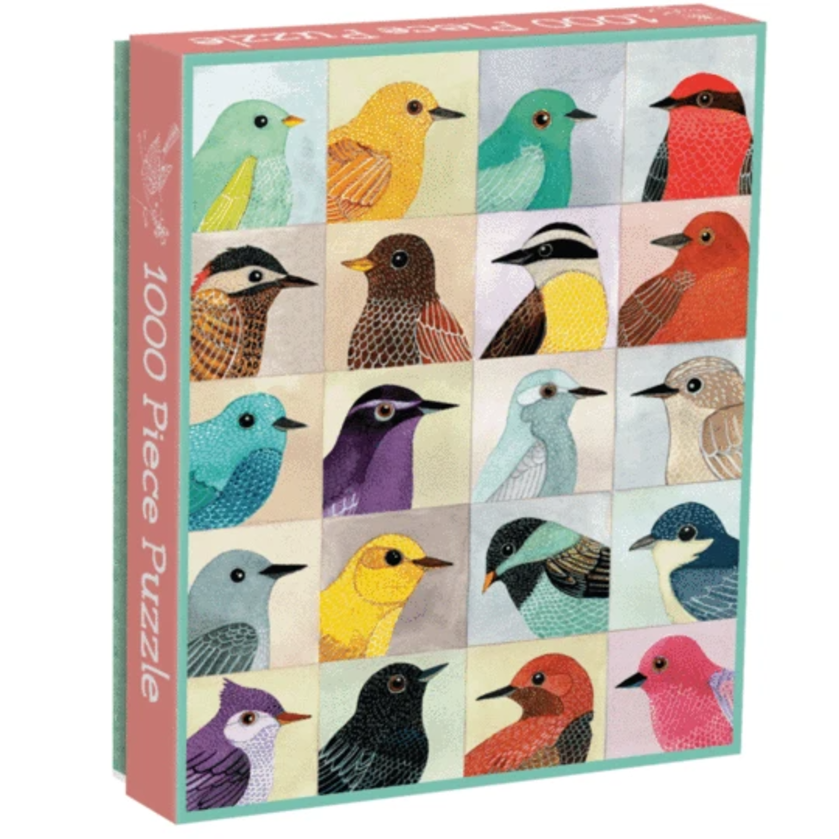 Galison Avian Friends - 1000 Piece Jigsaw Puzzle