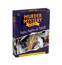 University Games Murder Mystery Party: Pasta, Passion & Pistols