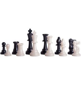 Worldwise Imports Triple Weight Plastic Tournament Chess Pieces