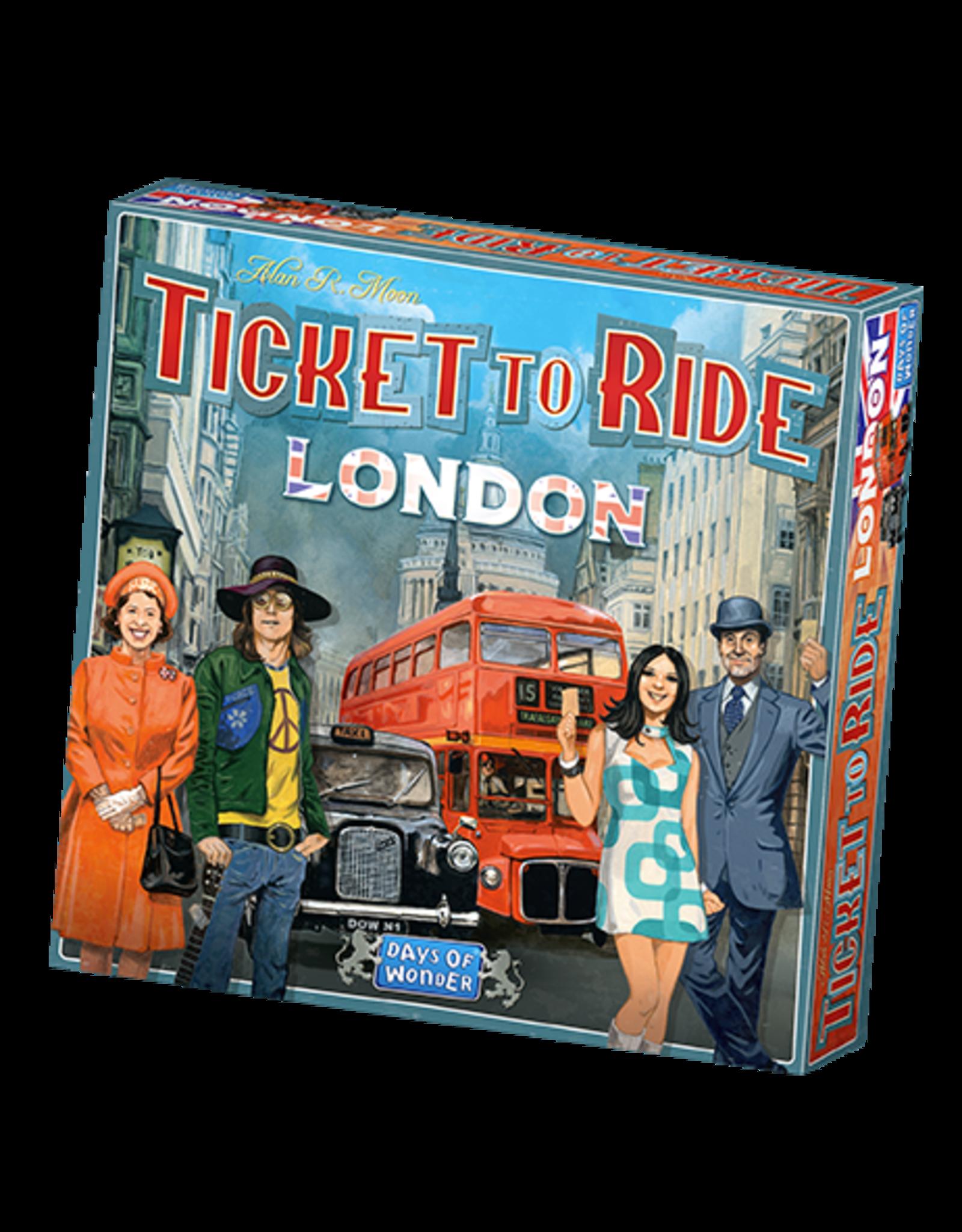 Days of Wonder Ticket to Ride London