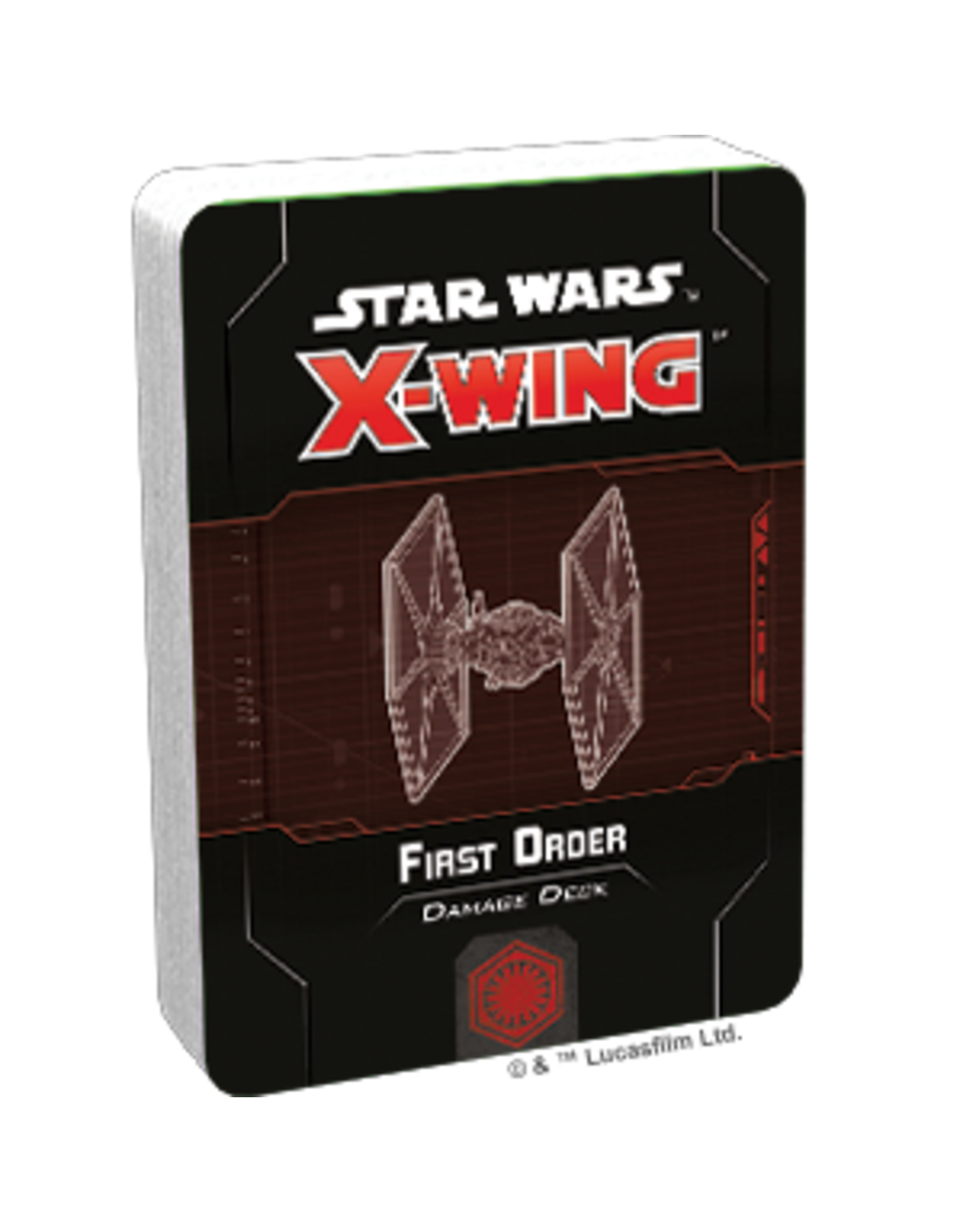 Fantasy Flight Games Star Wars X-Wing 2nd Edition: First Order Damage Deck Expansion Pack
