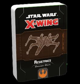 Fantasy Flight Games SW X-Wing 2E Resistance Damage Deck