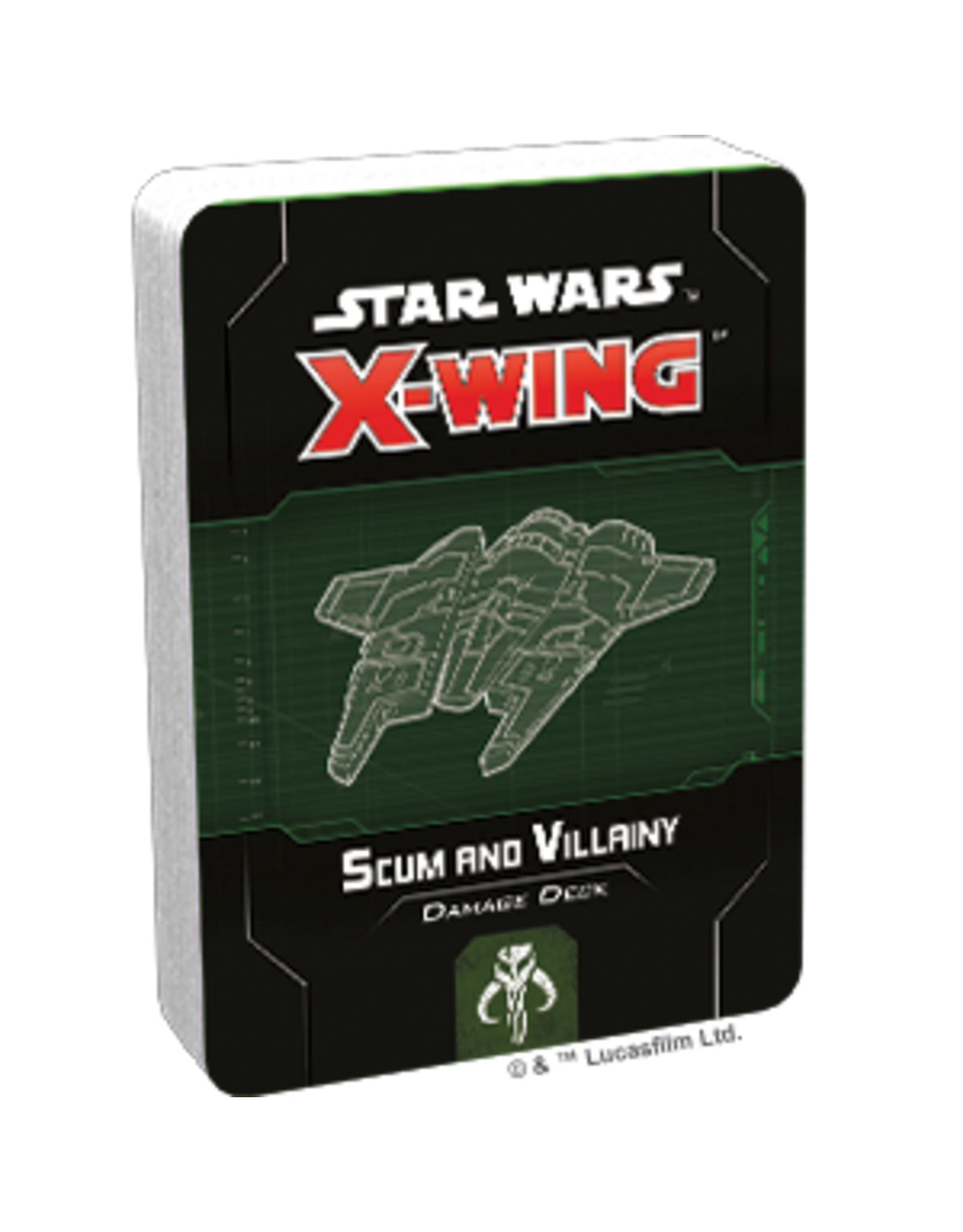 Fantasy Flight Games Star Wars X-Wing 2nd Edition: Scum and Villainy Damage Deck