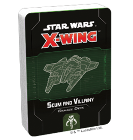Fantasy Flight Games SW X-Wing 2E Scum and Villainy Damage Deck