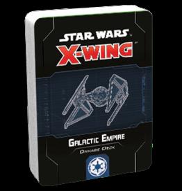 Fantasy Flight Games SW X-Wing 2E Galactic Empire Damage Deck