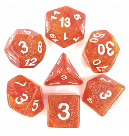 HD Dice 7-Set Galaxy Yellow Red w/ White (HD)