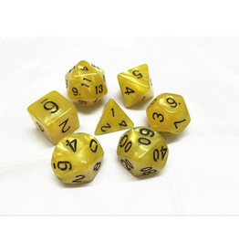 HD Dice 7-Set Pearl Yellow w/ Black (HD)