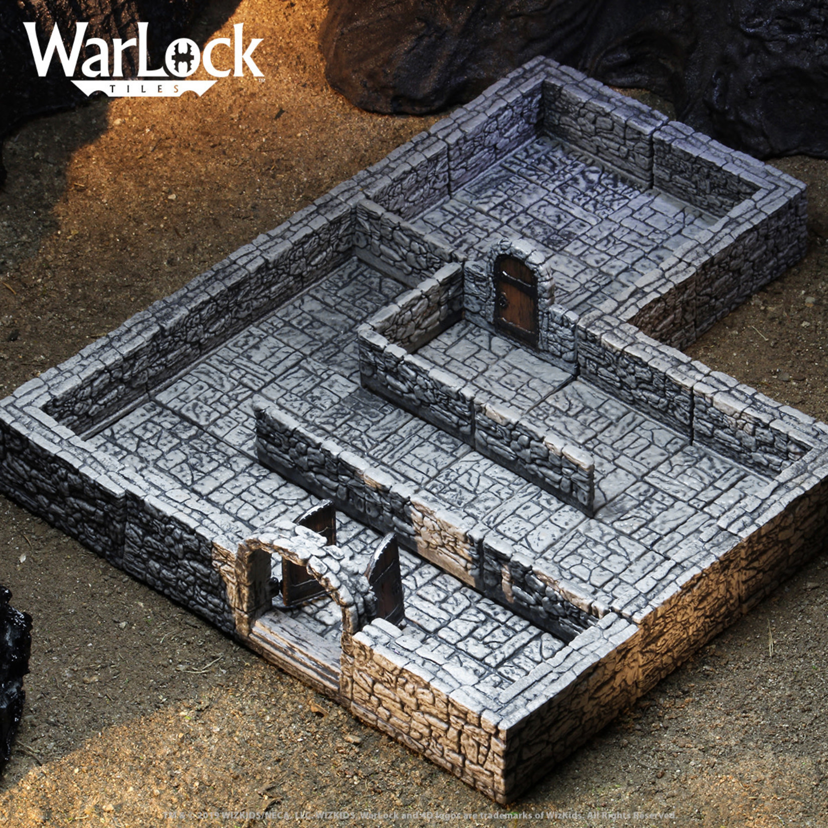 WizKids WarLock Tiles: Dungeon Tiles I