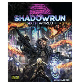 Catalyst Game Labs Shadowrun 6E Core Rulebook