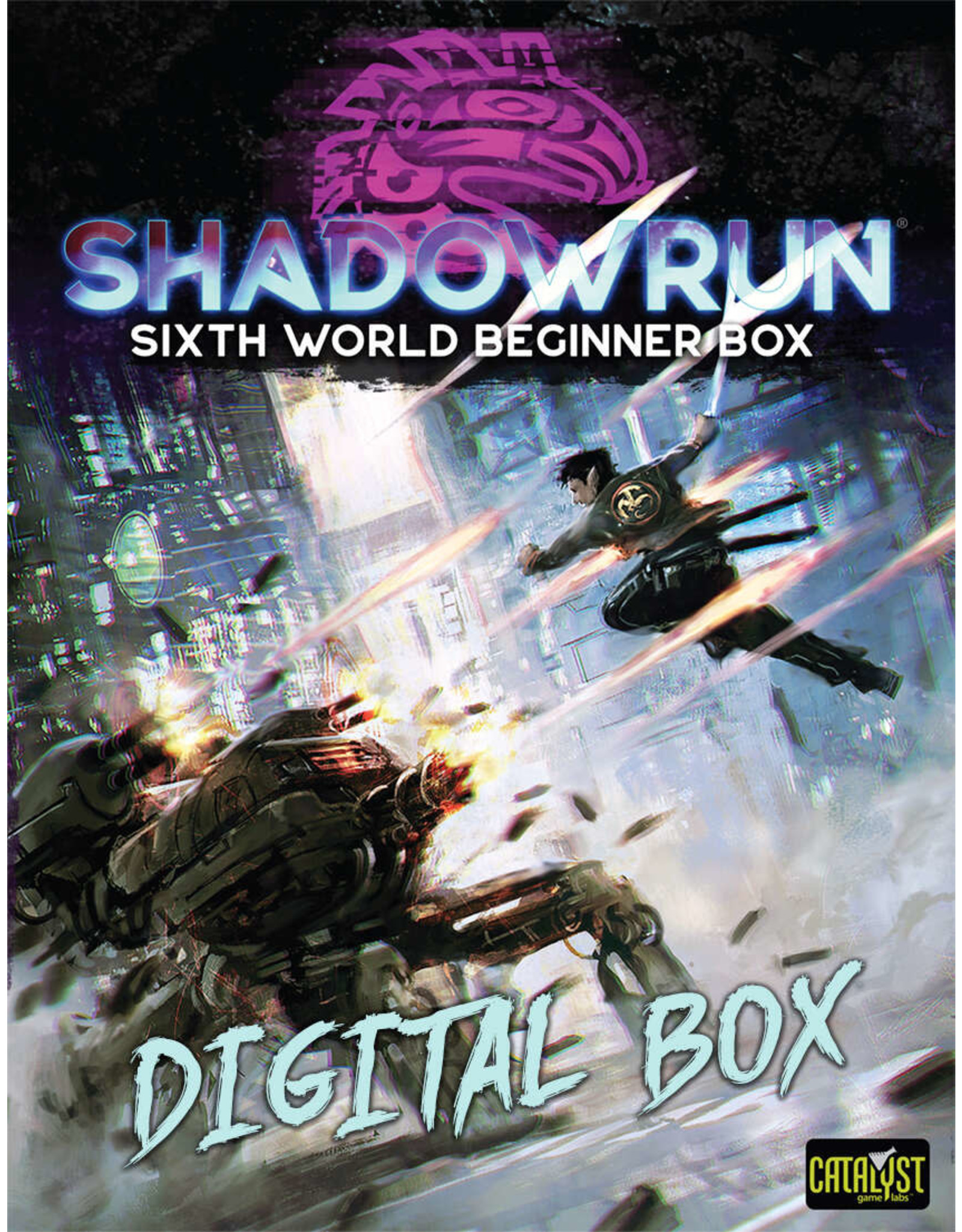 Catalyst Game Labs Shadowrun 6E Beginner Box