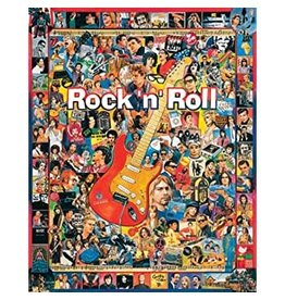 White Mountain Puzzles Rock n Roll 1000p