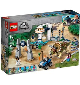 LEGO LEGO Jurassic Park Triceratops Rampage
