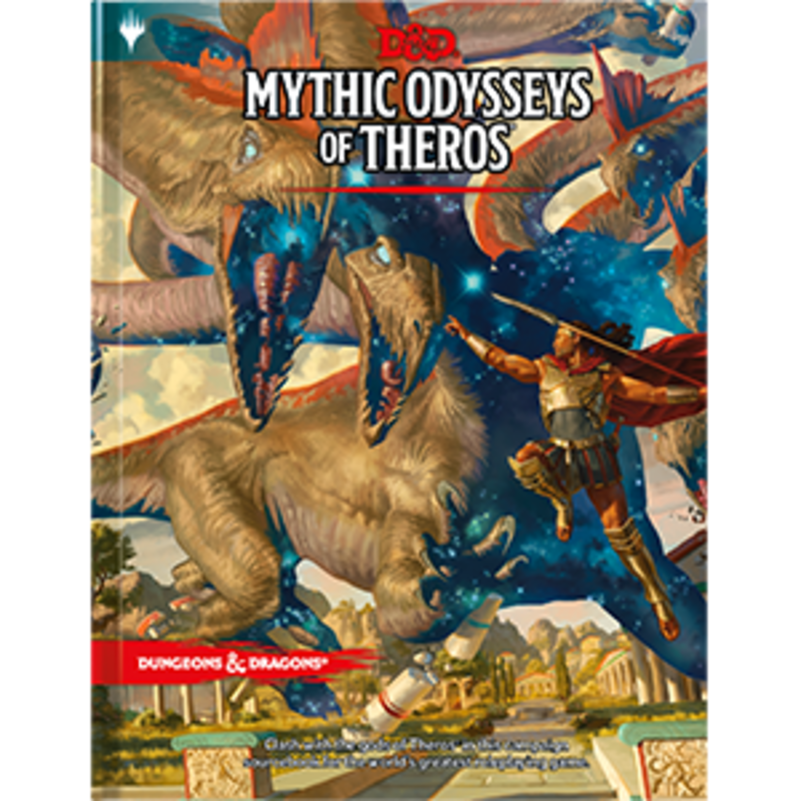 Dungeons & Dragons Dungeons & Dragons 5th Edition: Mythic Odysseys of Theros (Regular Cover)