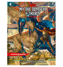 Dungeons & Dragons D&D 5e Mythic Odysseys of Theros (Regular Cover)