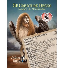 Inkwell Ideas D&D 5e Creature Decks: Dragons & Monstrosities