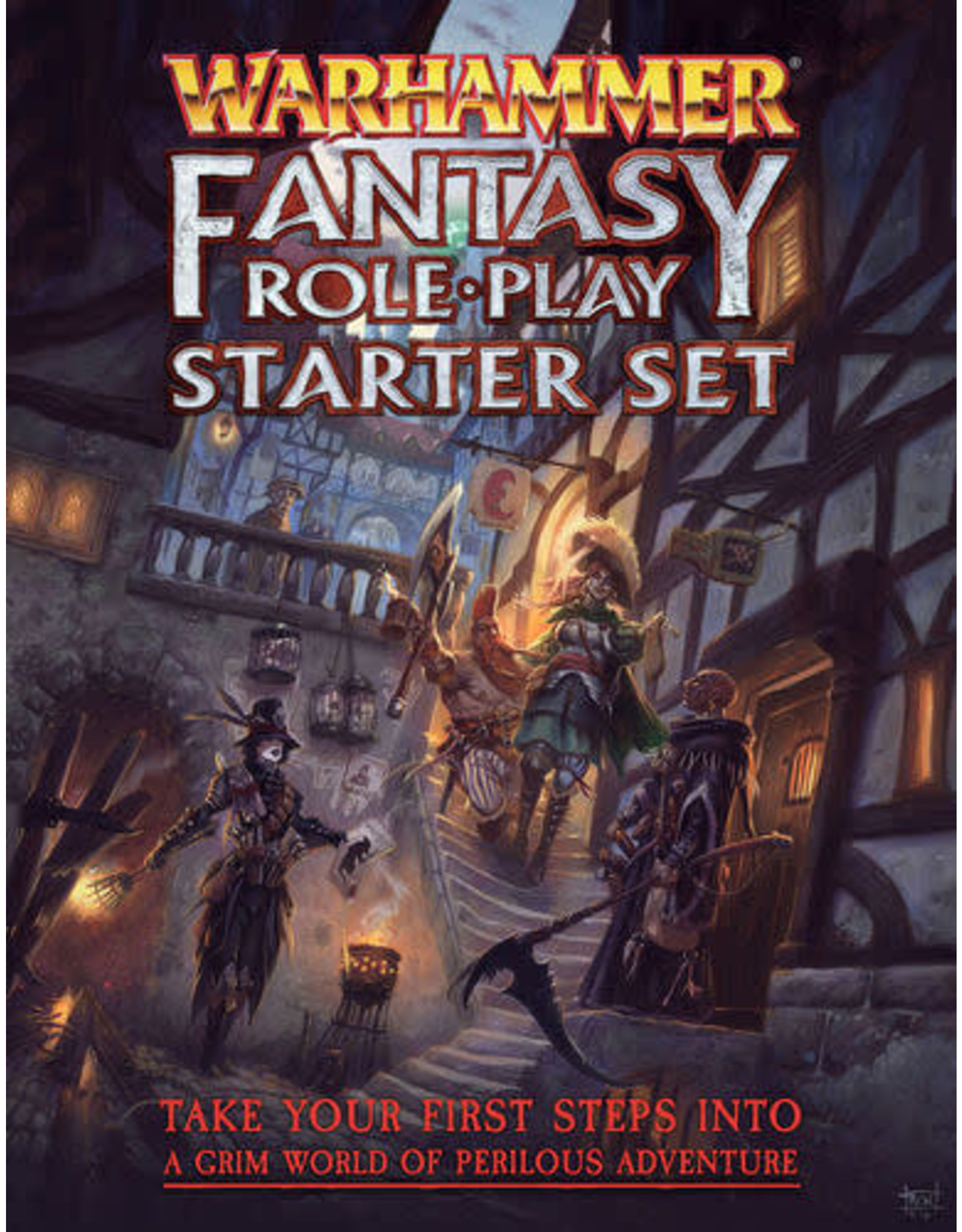 Cubicle 7 Warhammer Fantasy Role Playing Game 4th Edition Starter Set