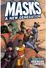 Indie Press Revolution Masks A New Generation Role Playing Game (softcover)