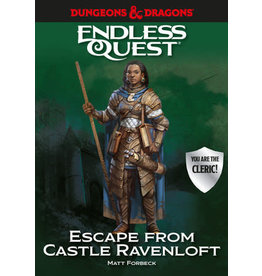 Penguin Random House D&D Endless Quest: Escape from Castle Ravenloft (Hardcover)