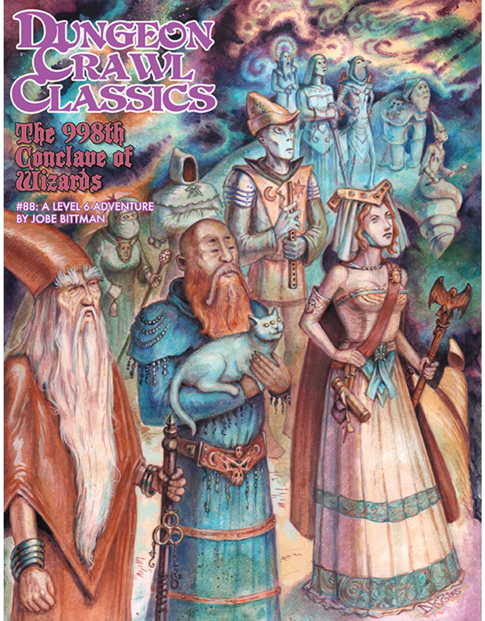 """Goodman Games Dungeon Crawl Classics: Module 88 """"The 998th Conclave of Wizards"""""""