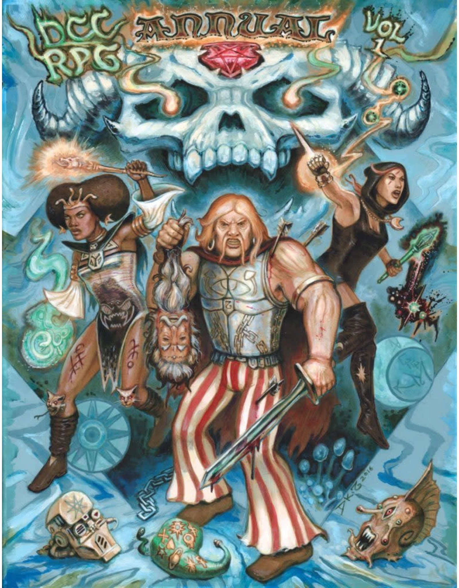 Goodman Games Dungeon Crawl Classics: Annual Volume 1