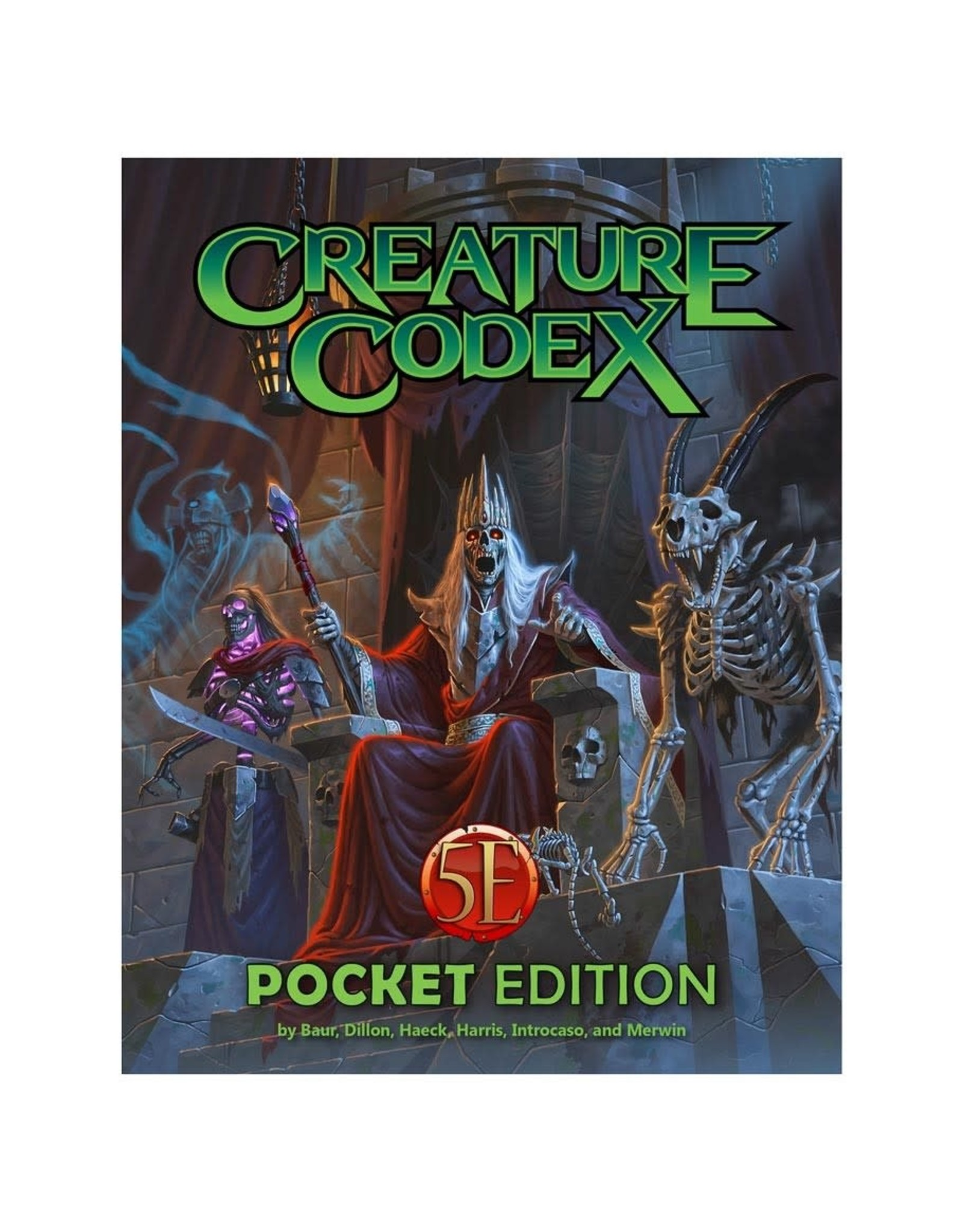 Kobold Press Creature Codex Pocket Edition (Compatible with Dungeons & Dragons 5e)