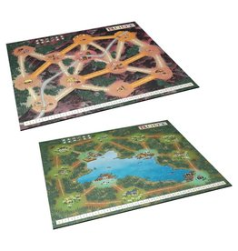 Leder Games Root Playmat Lake & Mountain