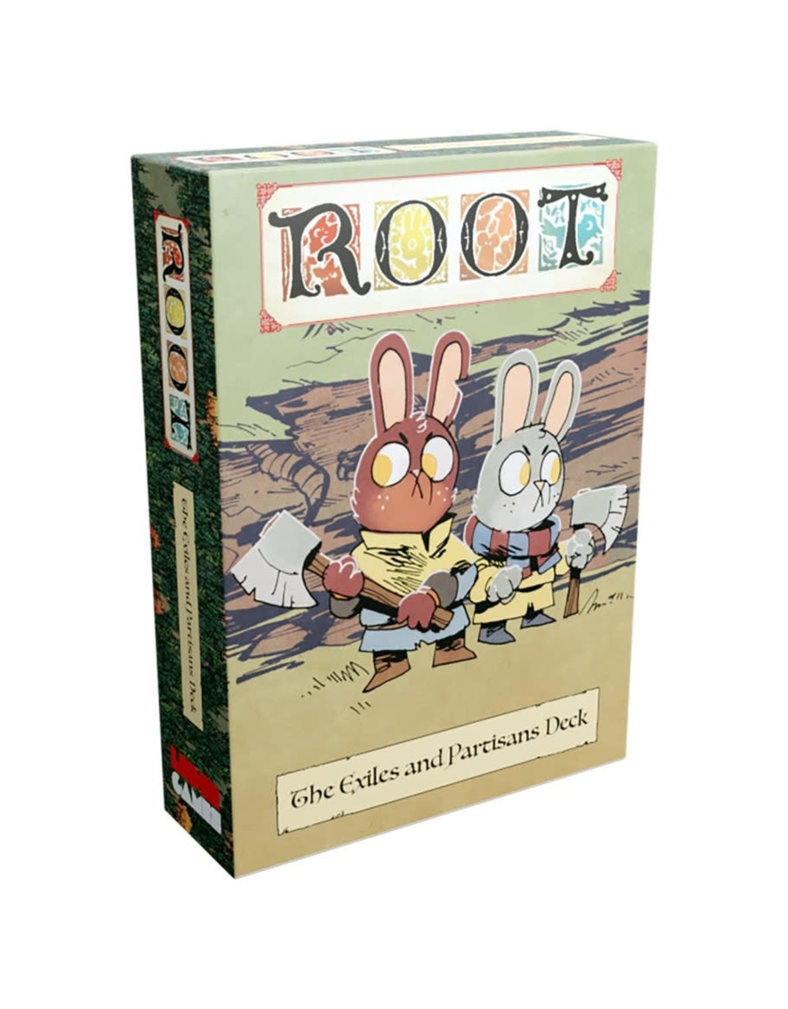 Leder Games Root Exiles & Partisans