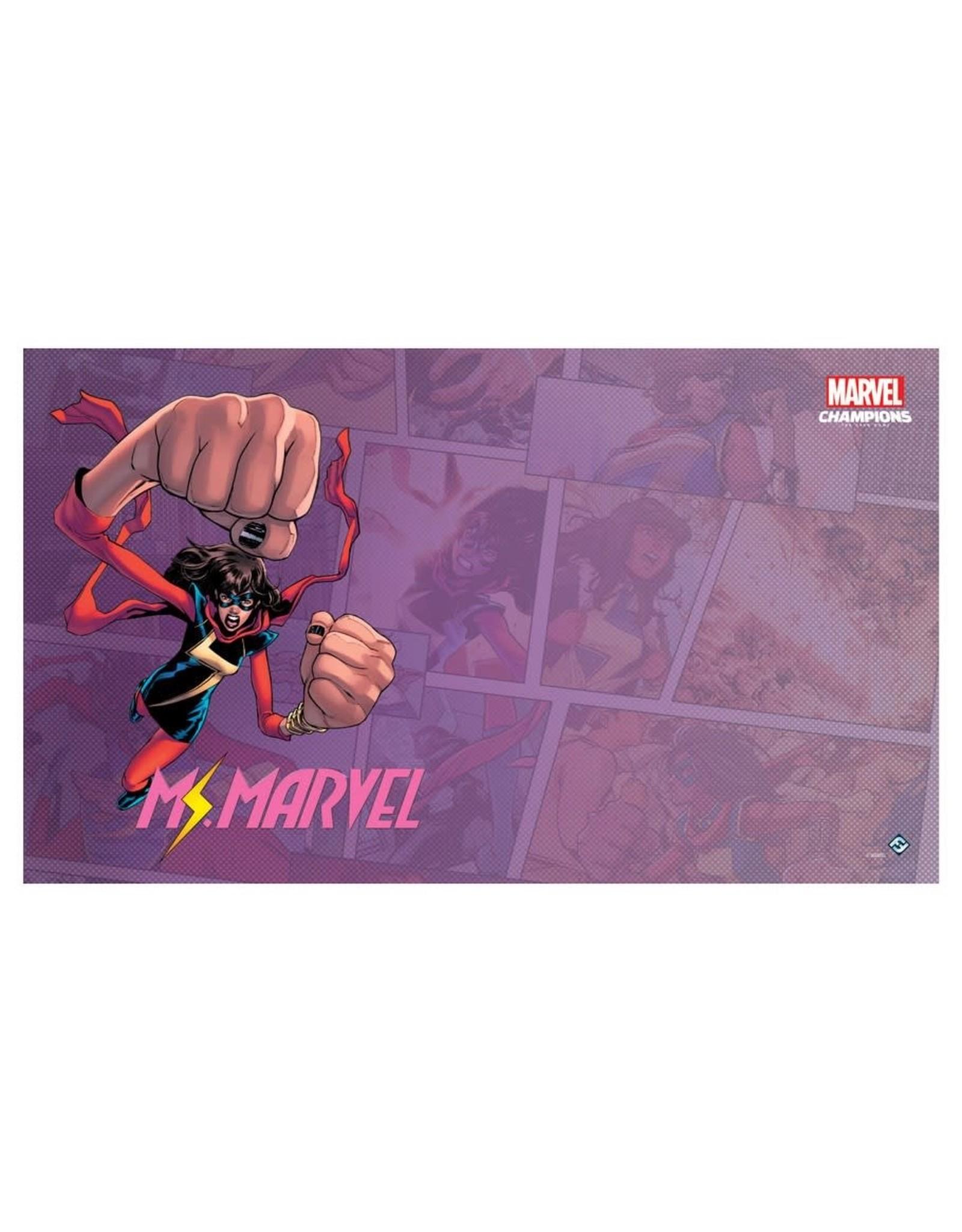 Asmodee Playmat Marvel Champions Ms. Marvel