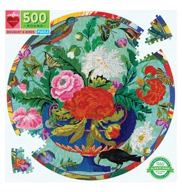 eeBoo Bouquet & Birds Round 500p