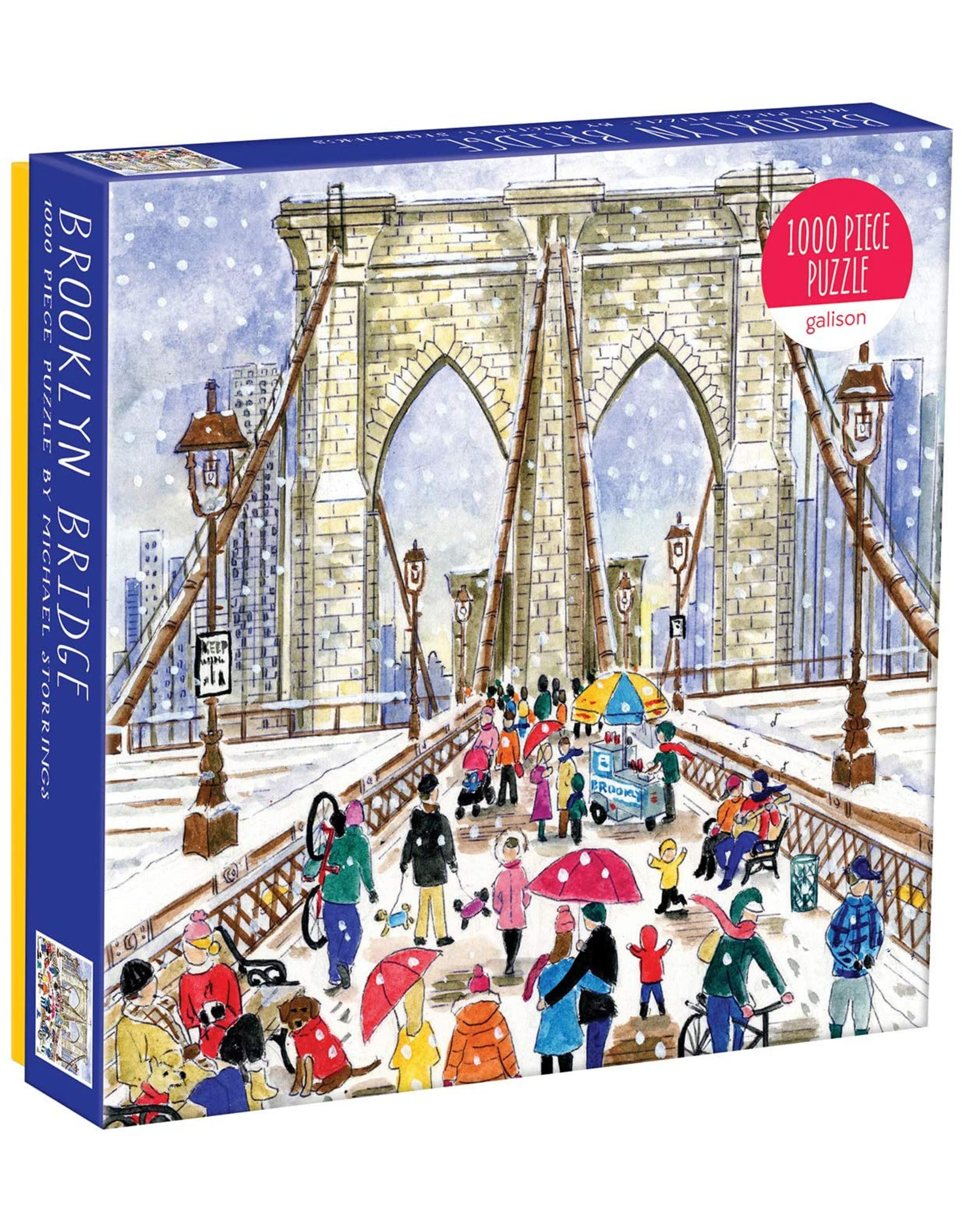 Galison Brooklyn Bridge by Michael Storrings 1000 Pieces