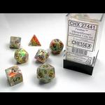 Chessex 7-Set Festive Vibrant/Brown