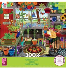 Ceaco Beach House Greenhouse 300p