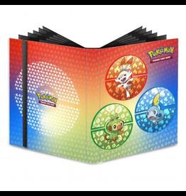 Pokémon Sword and Shield Galar Starters 9-Pocket PRO-Binder for Pokémon