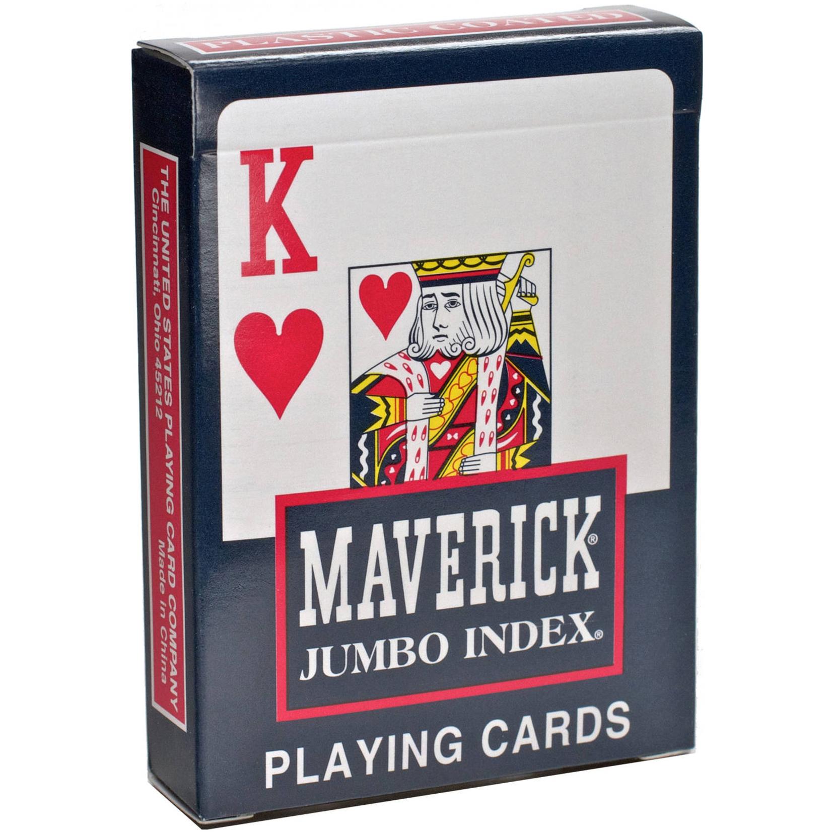 Bicycle Bicycle: Maverick Poker Jumbo Index Cards