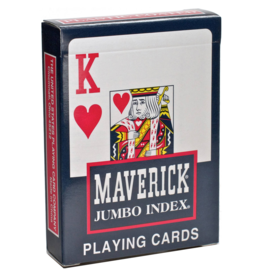 Bicycle Bicycle: Maverick Poker Jumbo Index Cards