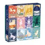 Galison Cat Zodiac 500 - Piece jigsaw puzzle