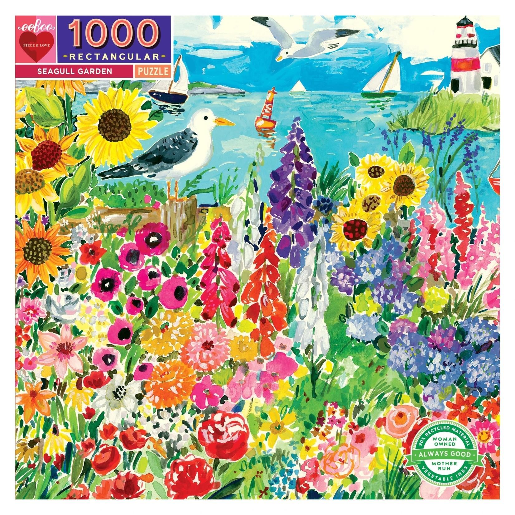 Eeboo Seagull Garden - 1000 Piece Jigsaw Puzzle